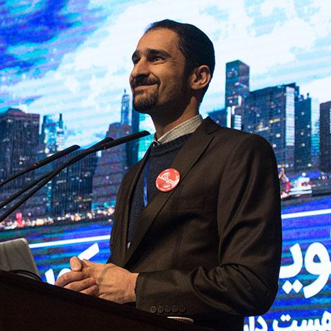 رضا قربانی - رییس هیات مدیره موسسه تراکنش - بنیانگذار شبکه راه پرداخت