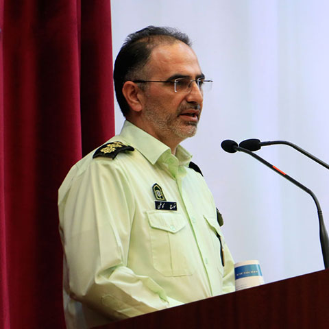 سرهنگ تورج کاظمی - رییس پلیس فتا